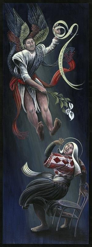 Guatemalan Have No Fear Sacred Art by Rev. Fr. John B. Giuliani